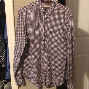 Burberry gingham button down
